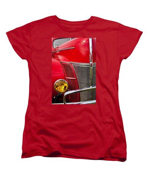 V8 - Another View Women's T-Shirt (Standard Cut) by Mark Alder