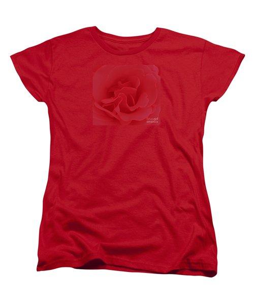 Valentine Red Women's T-Shirt (Standard Cut)