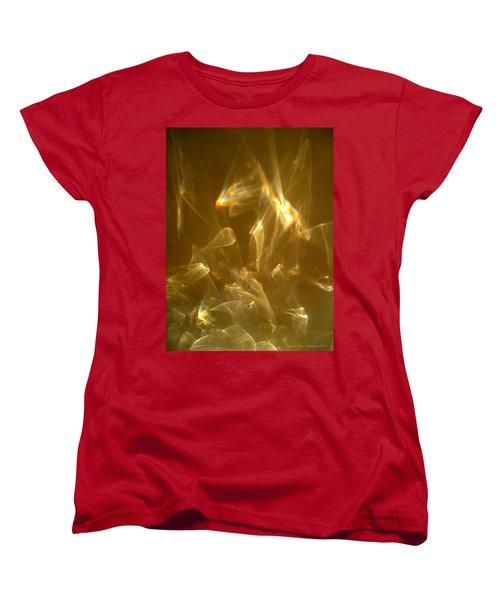 Women's T-Shirt (Standard Cut) featuring the photograph Veils Of Light by Leena Pekkalainen