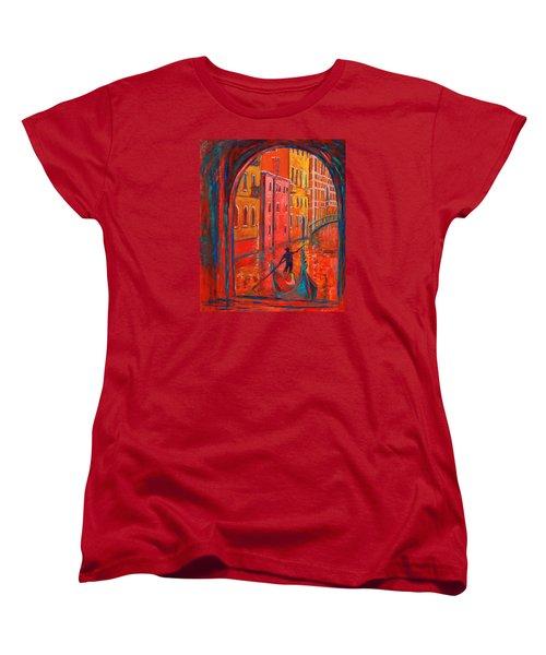 Venice Impression Viii Women's T-Shirt (Standard Cut) by Xueling Zou