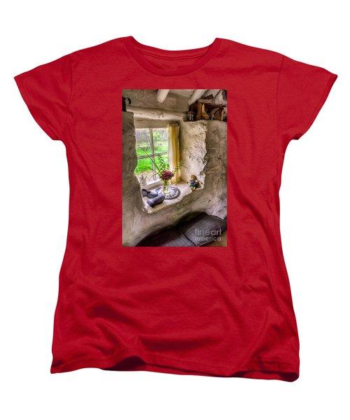 Victorian Window Women's T-Shirt (Standard Cut) by Adrian Evans