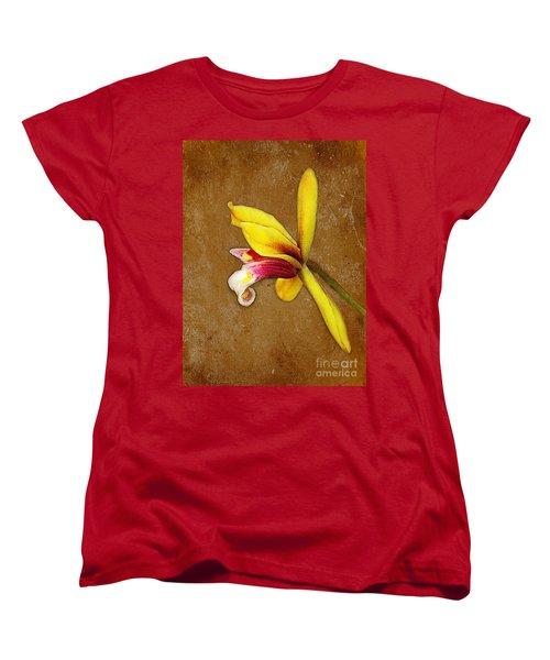 Vintage Orchid Women's T-Shirt (Standard Cut) by Judi Bagwell