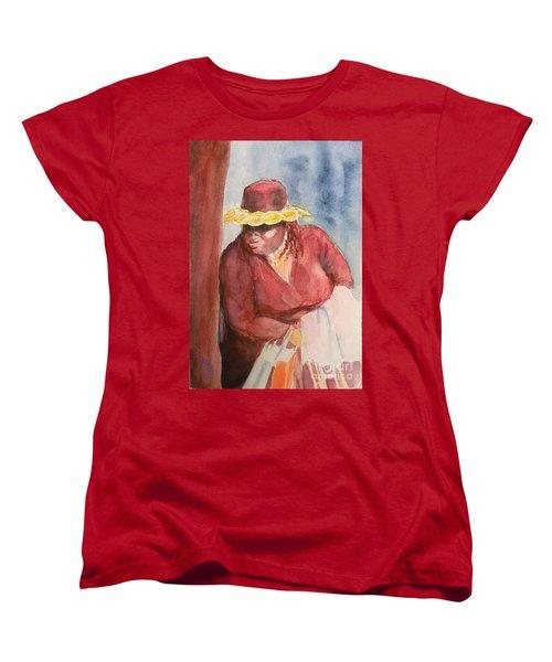 Waiting 1 Women's T-Shirt (Standard Cut) by Yoshiko Mishina