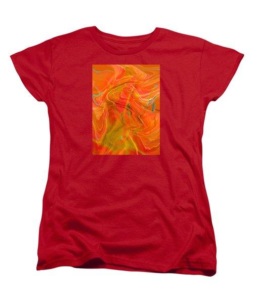 Women's T-Shirt (Standard Cut) featuring the photograph Was A Daylily by Brooks Garten Hauschild