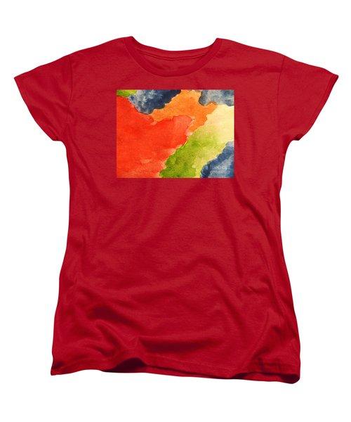 Wash Away Women's T-Shirt (Standard Cut) by Andrea Anderegg