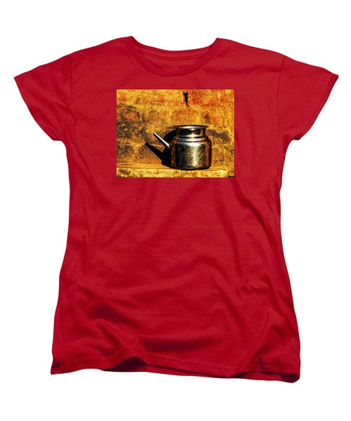 Water Vessel Women's T-Shirt (Standard Cut) by Prakash Ghai