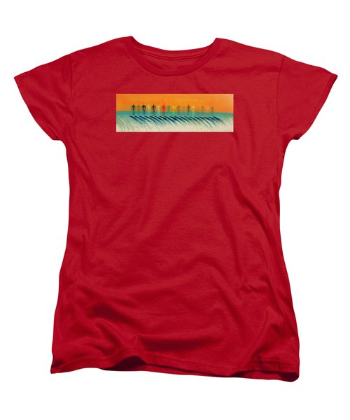 We Are All The Same Women's T-Shirt (Standard Cut) by Tim Mullaney