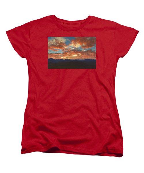 Western Sunset Women's T-Shirt (Standard Cut) by Mark Greenberg