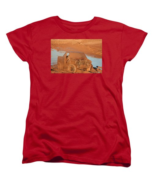 Which Way Women's T-Shirt (Standard Cut) by David S Reynolds