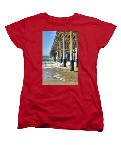 Who Are You Looking At Women's T-Shirt (Standard Cut) by David Zanzinger