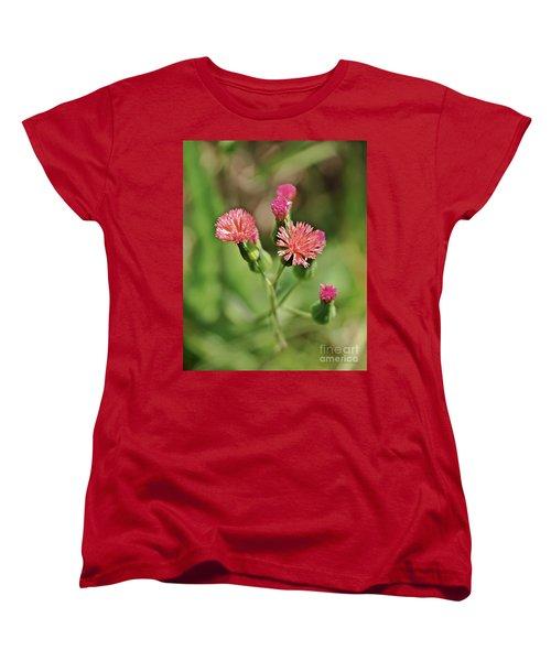Women's T-Shirt (Standard Cut) featuring the photograph Wild Flower by Olga Hamilton