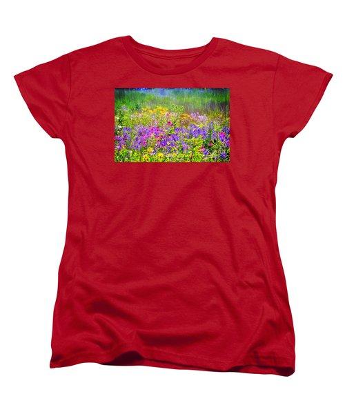 Wildflower Beauty  Women's T-Shirt (Standard Cut)