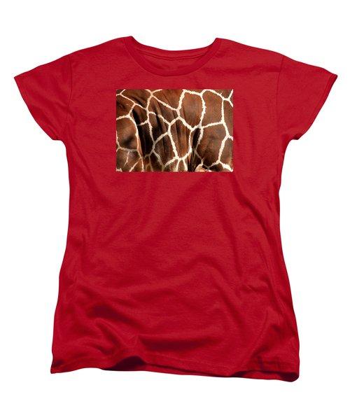 Wildlife Patterns  Women's T-Shirt (Standard Cut) by Aidan Moran