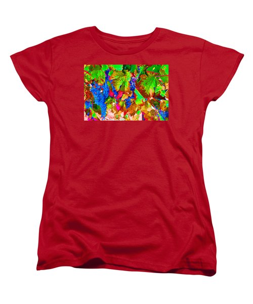 Women's T-Shirt (Standard Cut) featuring the photograph Wine In Time by David Lawson