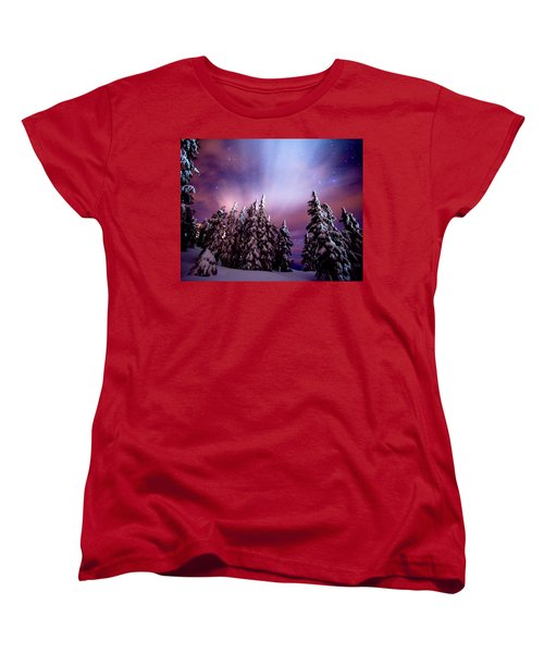 Winter Nights Women's T-Shirt (Standard Cut)