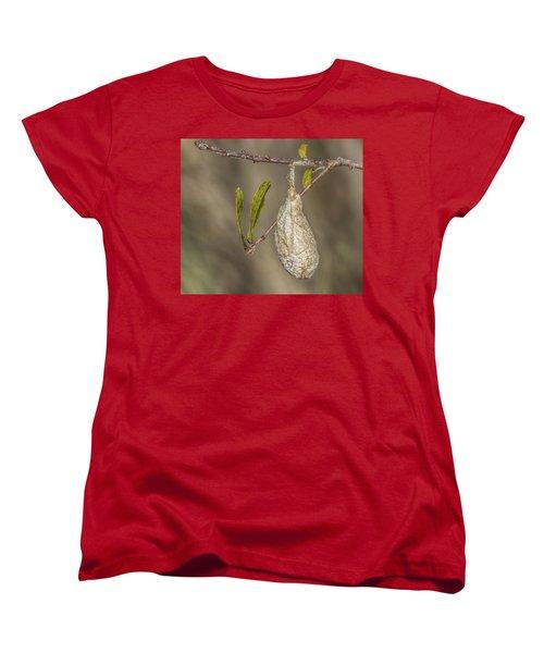 Wonder What's Inside Women's T-Shirt (Standard Cut) by Jane Luxton