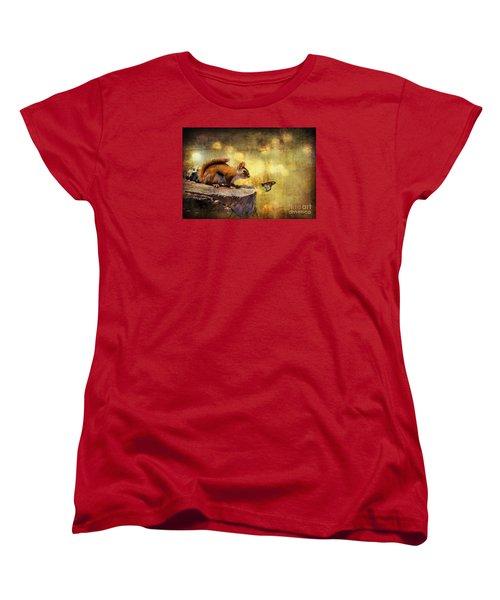 Woodland Wonder Women's T-Shirt (Standard Cut) by Lois Bryan