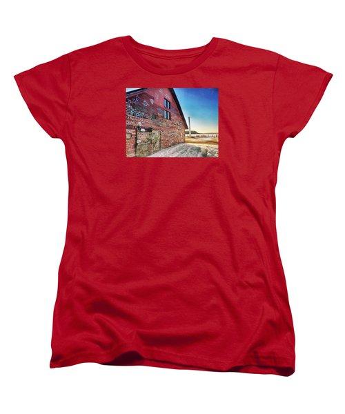 Writing On The Wall Women's T-Shirt (Standard Cut) by Luke Collins
