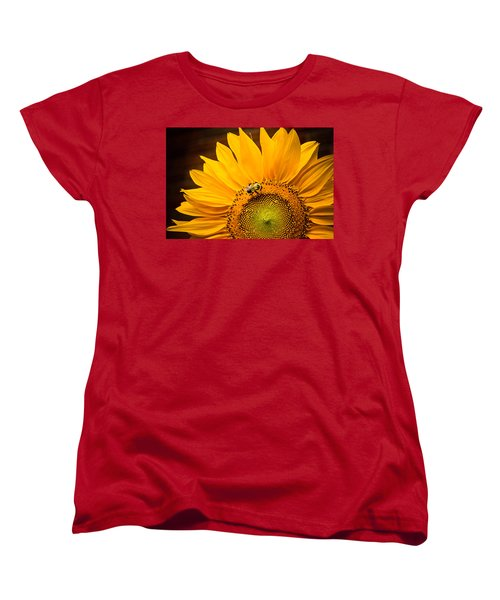 Women's T-Shirt (Standard Cut) featuring the photograph Yellow And Black by Sara Frank