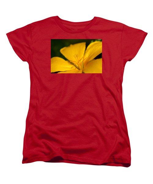 Women's T-Shirt (Standard Cut) featuring the photograph Yellow by Greg Allore