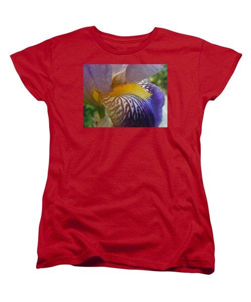 Yellow Tuft Women's T-Shirt (Standard Cut) by Cheryl Hoyle