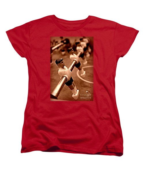 Yesterdays Toys Women's T-Shirt (Standard Cut) by Clare Bevan
