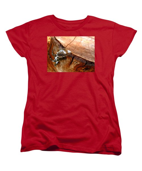 Women's T-Shirt (Standard Cut) featuring the photograph You Can See Me? by Greg Allore