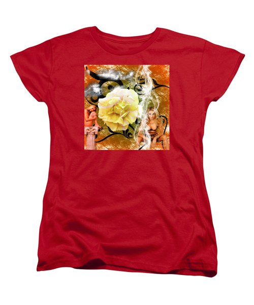 Women's T-Shirt (Standard Cut) featuring the photograph Beauty by Clayton Bruster