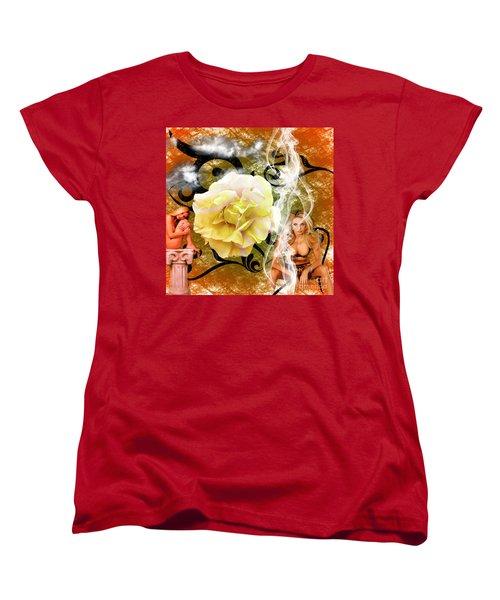 Beauty Women's T-Shirt (Standard Cut) by Clayton Bruster