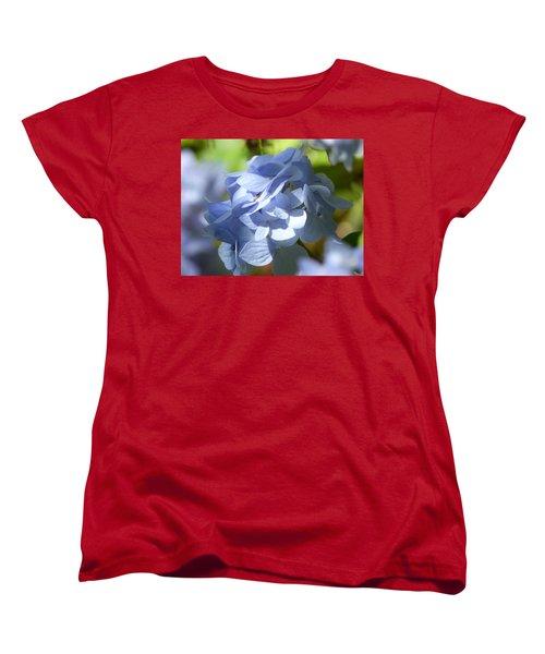 Women's T-Shirt (Standard Cut) featuring the photograph Hydrangea by Lynn Bolt