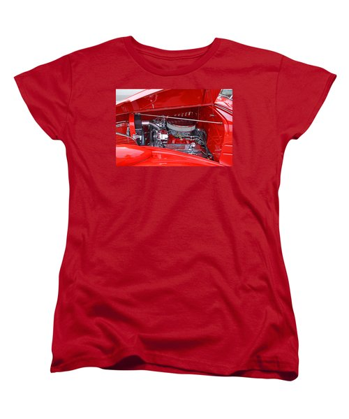 Women's T-Shirt (Standard Cut) featuring the photograph 1938 Chevy Make-over by Paul Mashburn