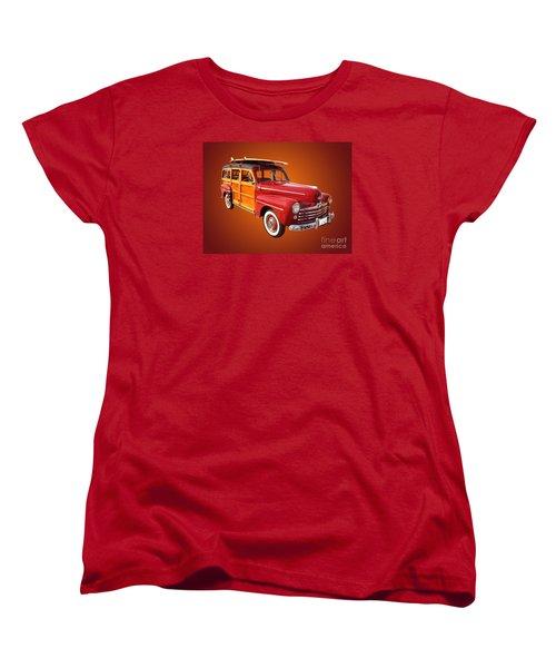 1947 Woody Women's T-Shirt (Standard Cut) by Jim Carrell