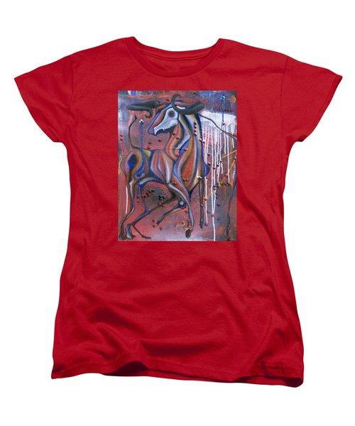False Flags II Women's T-Shirt (Standard Cut) by Sheridan Furrer