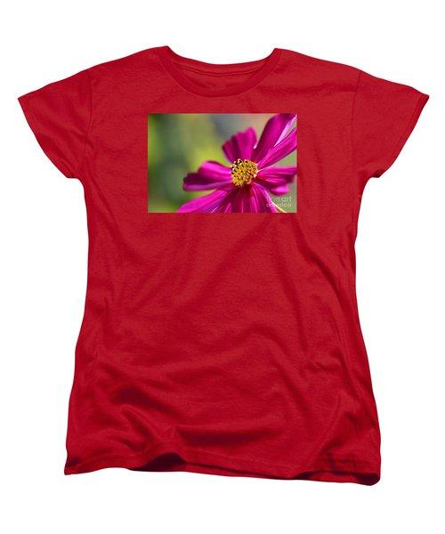 Women's T-Shirt (Standard Cut) featuring the photograph Yellow Dots by Henrik Lehnerer