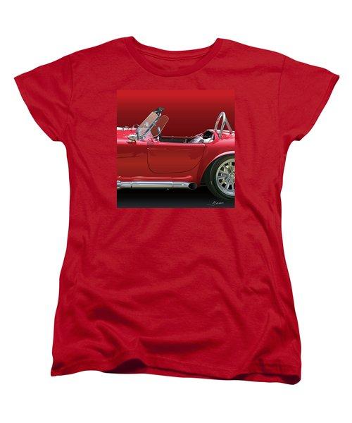 Ac Cobra Detail Women's T-Shirt (Standard Cut) by Alain Jamar