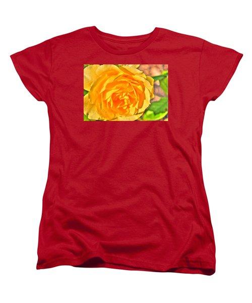 Women's T-Shirt (Standard Cut) featuring the photograph After The Rain by Michael Frank Jr