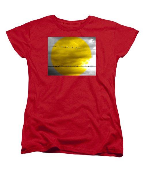 All Around The World Women's T-Shirt (Standard Cut) by France Laliberte