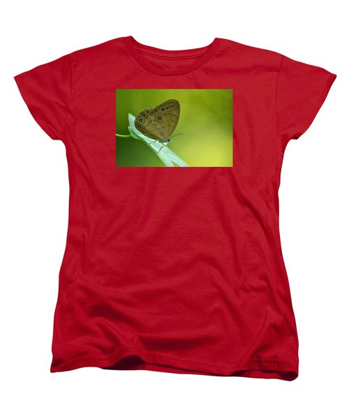 Women's T-Shirt (Standard Cut) featuring the photograph Appalachian Brown by JD Grimes