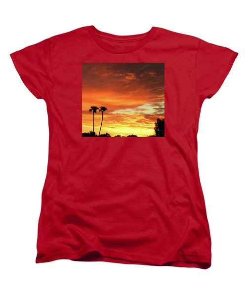 Arizona Sunrise 02 Women's T-Shirt (Standard Cut)