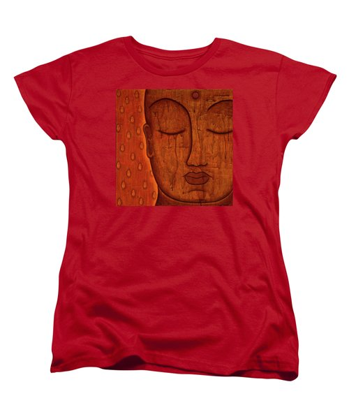 Women's T-Shirt (Standard Cut) featuring the mixed media Awakened Mind by Gloria Rothrock