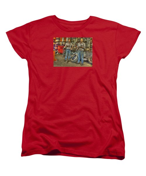 Women's T-Shirt (Standard Cut) featuring the photograph Big Wrenches by William Fields