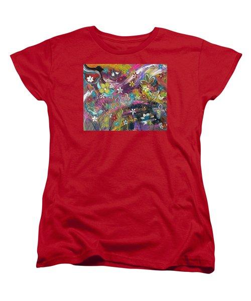 Bird Of A Feather Women's T-Shirt (Standard Cut) by Kelly Turner