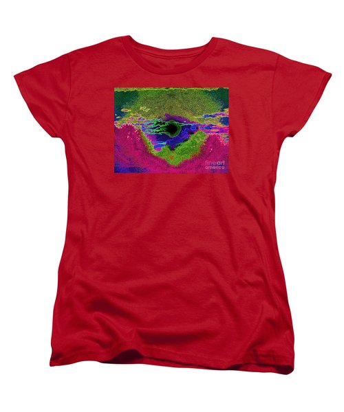 Black Hole Sun Women's T-Shirt (Standard Cut) by Susan Carella