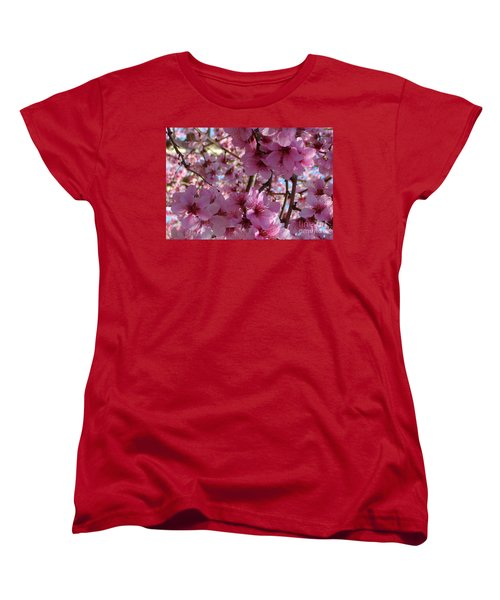 Women's T-Shirt (Standard Cut) featuring the photograph Blossoms by Lydia Holly