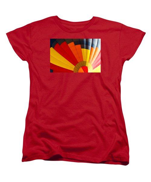 Bottom Up Women's T-Shirt (Standard Cut) by Colleen Coccia