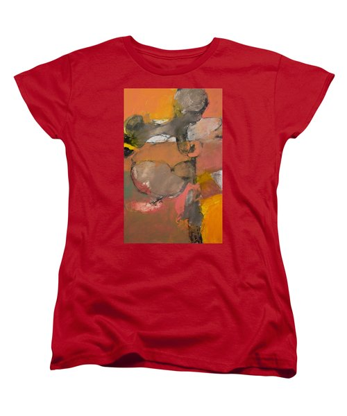 Women's T-Shirt (Standard Cut) featuring the painting Breastbone by Cliff Spohn