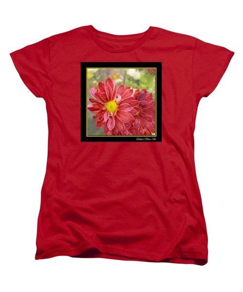 Women's T-Shirt (Standard Cut) featuring the digital art Bright Edges by Debbie Portwood