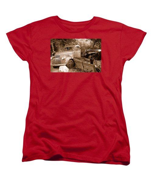 Broken  Women's T-Shirt (Standard Cut) by Holly Blunkall