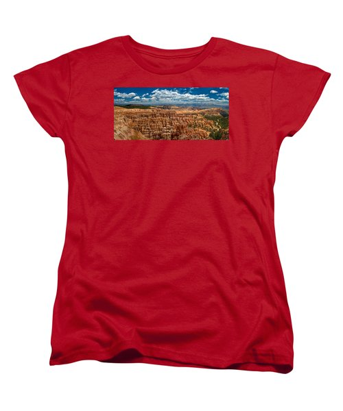 Bryce Canyon Women's T-Shirt (Standard Cut) by Larry Carr