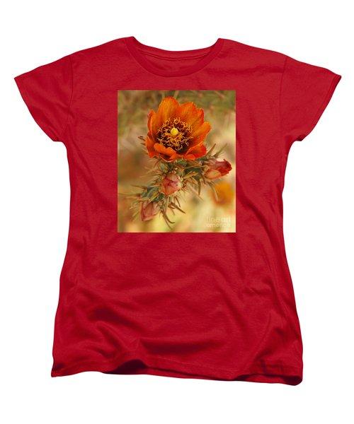 Buckhorn Cholla 2 Women's T-Shirt (Standard Cut) by Vivian Christopher